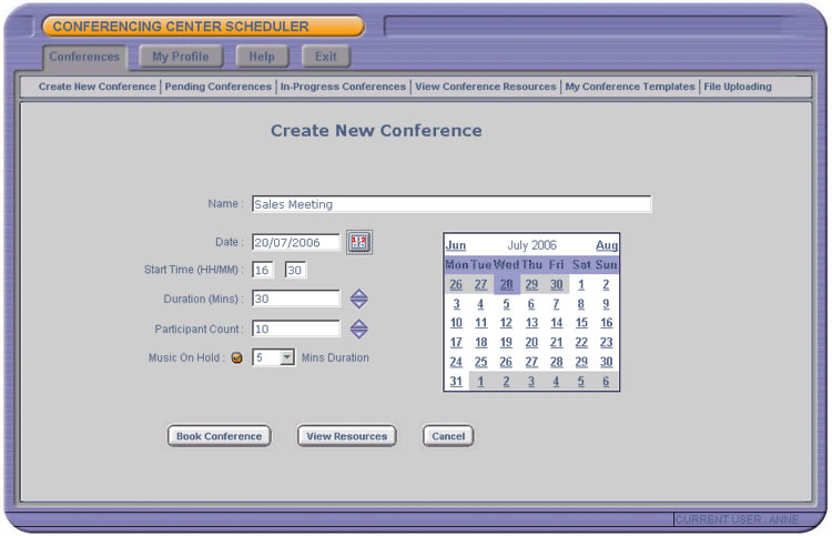 Conference Centre Scheduler